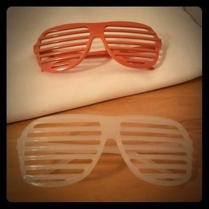 2 for 1! Shutter or Slotted Sunglasses